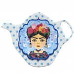 Frida Khalo saucer for tea bag