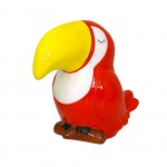 TOUCAN Money Box 12 cm - Red