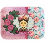 Frida Khalo rectangular serving tray Model 4