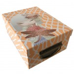 Orange Kimmidoll Cardboard Boxe - Small