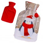 Christmas Spirit hot water bottle