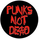 Punks Not Dead sticker