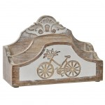 Retro Wooden Courier Furniture 23cm Patine
