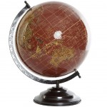 Decorative Red Globe 34 cm