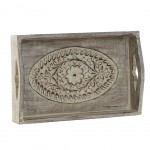Ethnic decorative tray 23 cm