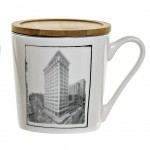 CITY mug with infuser - Model 2