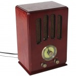 Wooden Retro Radio station