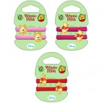Winnie the Pooh set of 2 hair ornements