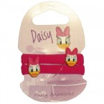 DAisy Duck set of 2 hair ornements