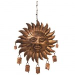 Sun and Bells metal chime