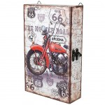 vintage Motorcycle Key Box