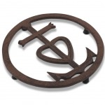 Camargue Cross metal Trivet