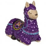 Purple Lama piggy bank