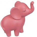 Pink elephant piggy bank