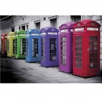 Color Phone Box poster