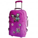 Hello Kitty Kiss Purple suitcase