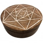 Round and white Metatron box