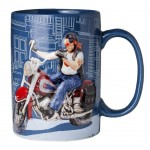 Guillermo Forchino Collection Mug - The Motorbiker