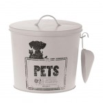 Food Storage Dog White 22 cm