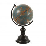 Decorative Blue Globe 34 cm