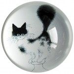 Cats by Dubout Paperweight