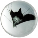 Cats by Dubout Paperweight - GROS DODO