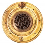 Incense burner sticks and cones Flower of life