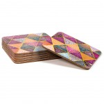 Patchwork Set of 6 coasters