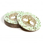 Tree of Life Set of 6 coasters