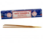 Incense Satya Nag Champa - Agarbatti 15 grams or about 15 Sticks