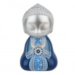 Little Buddha collection statuette - Blue - 13 cm