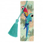 Amazon Love bookmark - Macaws