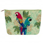 Amazon Love Cosmetic Purse - Macaws