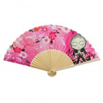 Decorative and useful fan Little Buddha