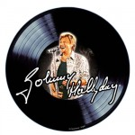 Johnny Hallyday mouse pad