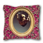 Small LOUIS PHILIPPE pink liberty cushion