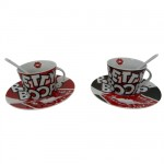 Betty Boop Box Cups and saucers
