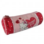 Charmmy Kitty red round pencil case