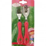 Strawberry Shortcake toddler flatware set