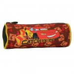 Cars round pencil case