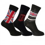 London 3 pairs socks 43/46