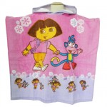 Dora the explorer Poncho towels