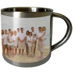 Small steel mug with PERSONALIZED PICTURE