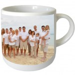 Small simple mug with PERSONALIZED PICTURE