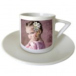 Set of 2 Coffee cups with PERSONALIZED PICTURES