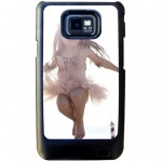 Black shell Samsung S2 with PERSONALIZED PICTURE