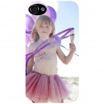 iPhone transparent shell 4/4S with PERSONALIZED PICTURE