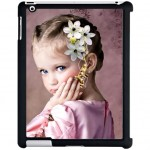 iPad 2 black shell with PERSONALIZED PICTURE