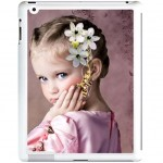 iPad 2 white shell with PERSONALIZED PICTURE