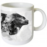 Turn paper mug with PERSONALIZED PICTURE